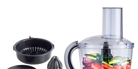 Product, Liquid, Small appliance, Magenta, Food processor, Perfume, Cosmetics, Glass bottle, Still life photography, Label,