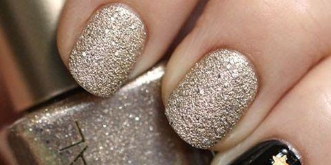 Finger, Blue, Brown, Skin, Nail care, Nail, Nail polish, Glitter, Style, Liquid,