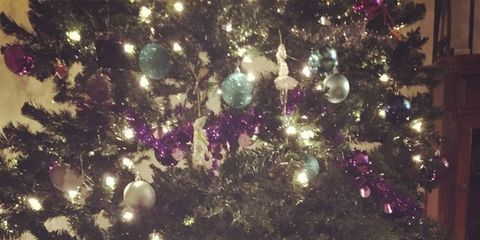 sometimes at christmas its hard not to get a little over excited and put tinsel and twinkling lights everywhere and in this case we really do mean - What Does Christmas Really Mean
