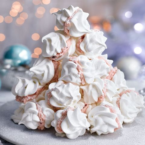 Meringue Kiss Tower Meringue Recipe