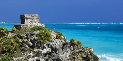 Coastal and oceanic landforms, Rock, Coast, Bedrock, Ocean, Azure, Sea, Shore, Aqua, Beach,