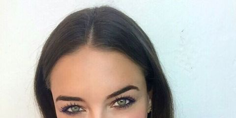 Lip, Cheek, Hairstyle, Chin, Forehead, Eyebrow, Eyelash, Pink, Jaw, Magenta,