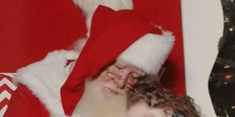 Human, People, Event, Red, Santa claus, Christmas eve, Christmas decoration, Fictional character, Holiday, Christmas,