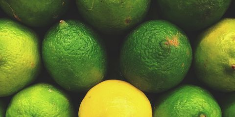Green, Yellow, Citrus, Colorfulness, Fruit, Ingredient, Produce, Whole food, Natural foods, Circle,