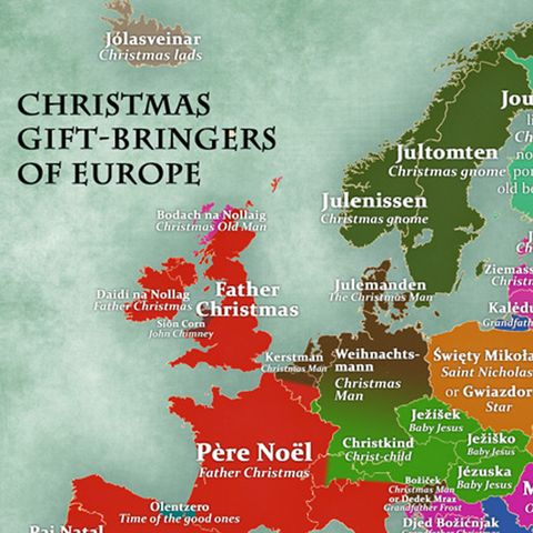 what is father christmas called in your country