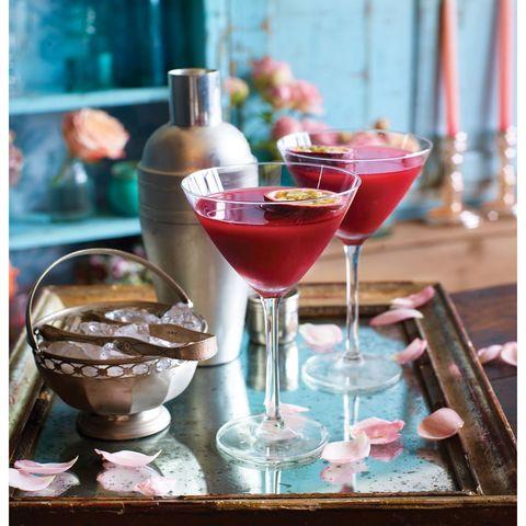 best cocktail recipes passionfruit martini