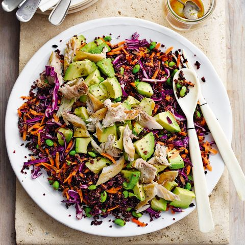 Dish, Food, Cuisine, Salad, Ingredient, Red cabbage, Vegetable, Produce, Superfood, Pomegranate,