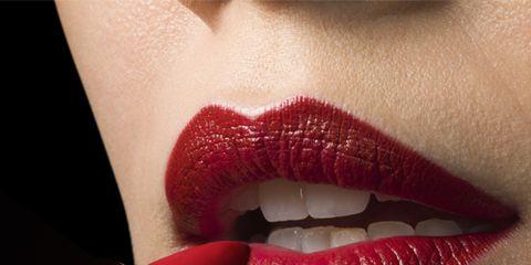 Lip, Mouth, Cheek, Skin, Eyebrow, Eyelash, Tooth, Red, Lipstick, Jaw,