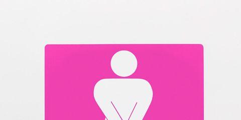 Pink, Magenta, Signage, Symbol, Gesture, Graphics, Sign,