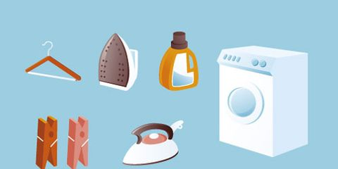 Peach, Illustration, Major appliance, Clothes dryer, Circle, Home appliance, Washing machine, Graphics, Drawing, Painting,