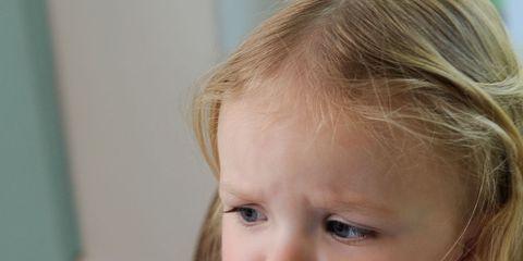 Nose, Lip, Cheek, Mouth, Dishware, Food, Child, Cuisine, Broccoli, Plate,