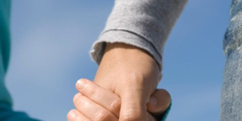 Finger, Wrist, Joint, People in nature, Thumb, Interaction, Gesture, Azure, Holding hands, Nail,