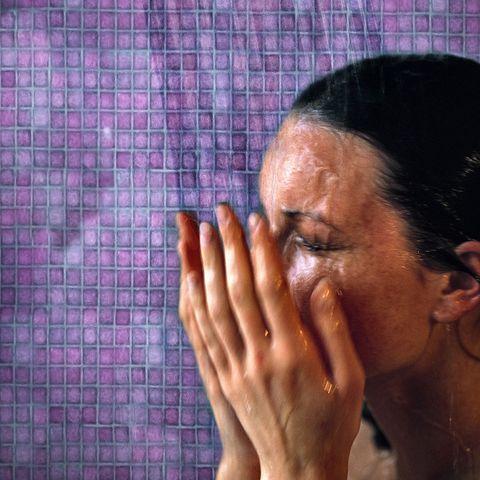 finger, skin, forehead, eyebrow, purple, wrist, violet, nail, wrinkle, temple,
