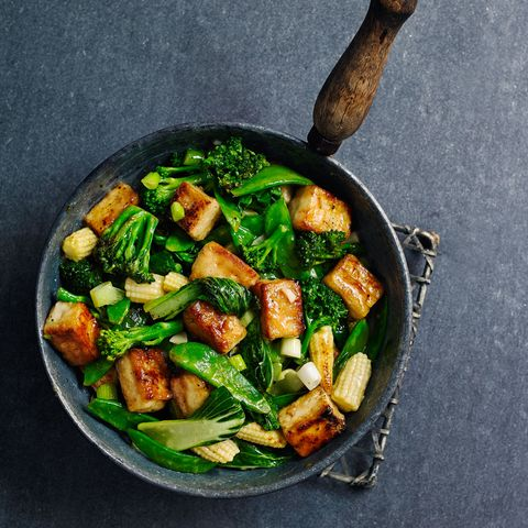 Lemon Tofu Stir Fry Midweek Meal Recipes