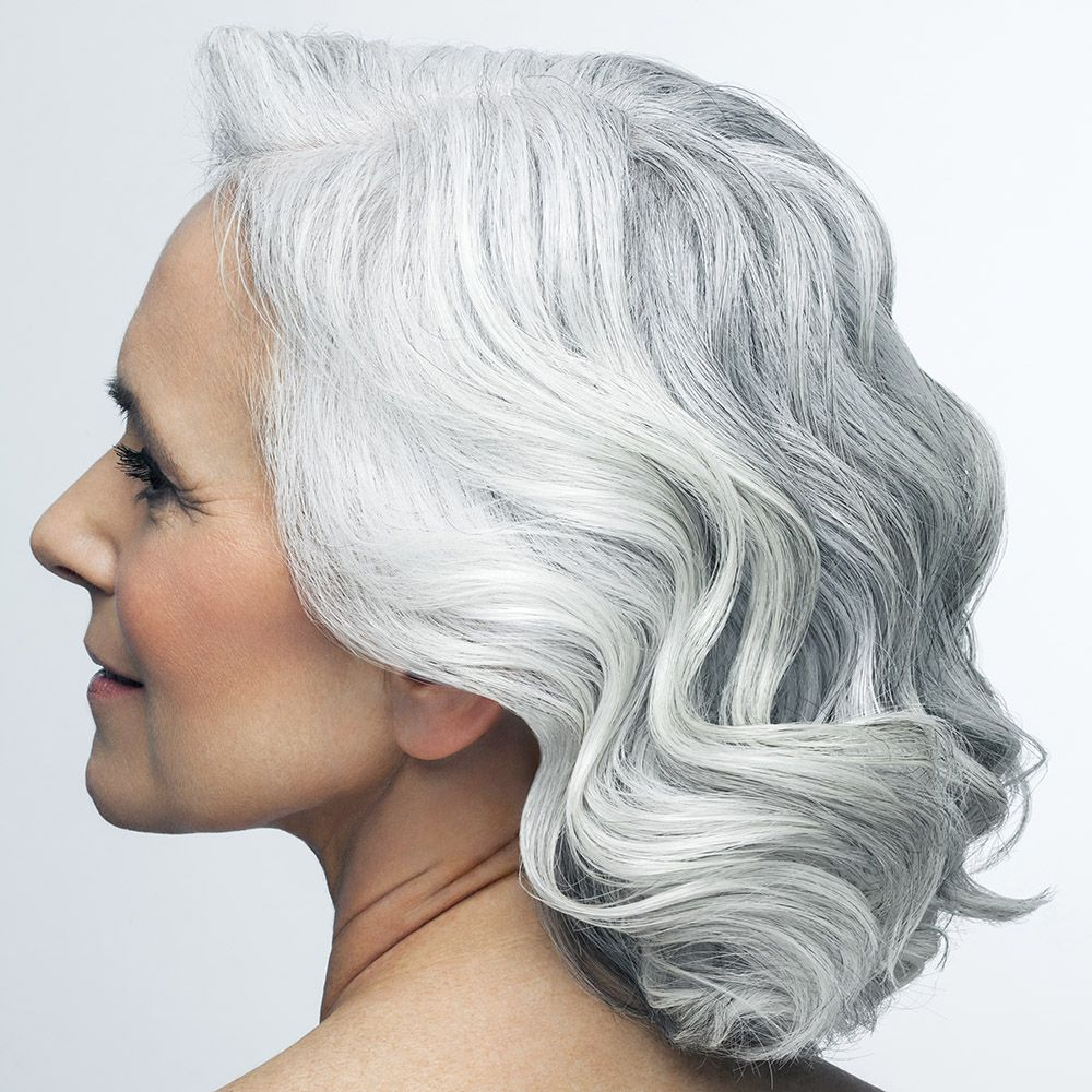 How To Make Grey Hair Shiny In Seconds