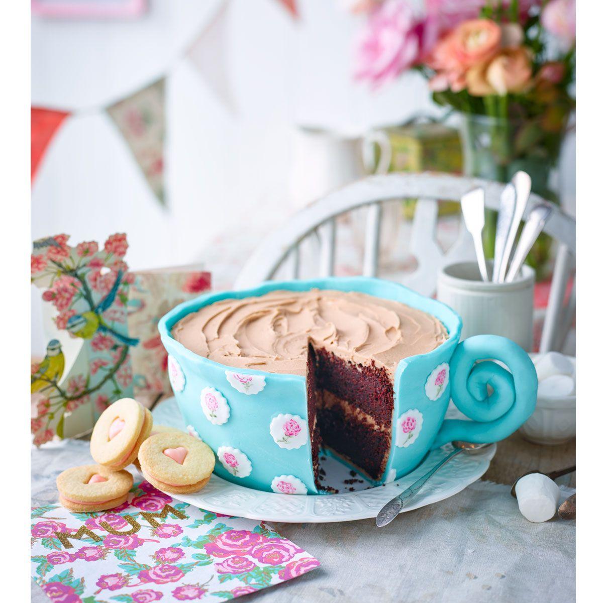 birthday tshirts in 2020   Tea cup cake, Tea cakes, Coffe