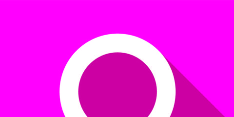 Magenta, Purple, Pink, Violet, Colorfulness, Symbol, Circle, Graphics, Clip art,