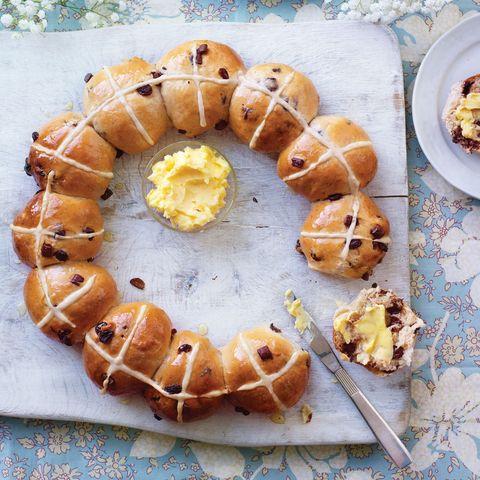 best bread recipes spiced chocolate orange hot cross buns recipe