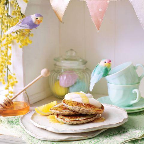 Lemon and Poppy Seed Pancakes