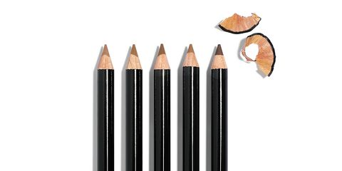 Brown, Writing implement, Office supplies, Peach, Cosmetics, Lipstick, Office instrument, Stationery,