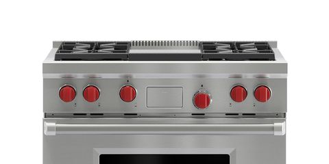 Major appliance, Stove, White, Cooktop, Line, Kitchen appliance, Home appliance, Kitchen stove, Gas stove, Kitchen appliance accessory,