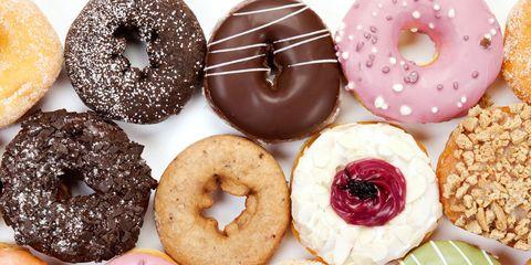 Brown, Food, Doughnut, Cuisine, Baked goods, Finger food, Dessert, Sweetness, Recipe, Ingredient,