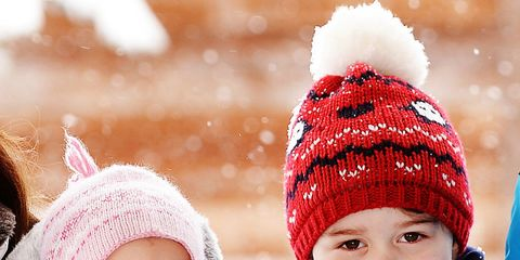 Nose, Winter, Mouth, Lip, Cheek, People, Skin, Child, Textile, Happy,