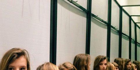 Hair, Style, Blond, Long hair, Student, Brown hair, Layered hair, Class,