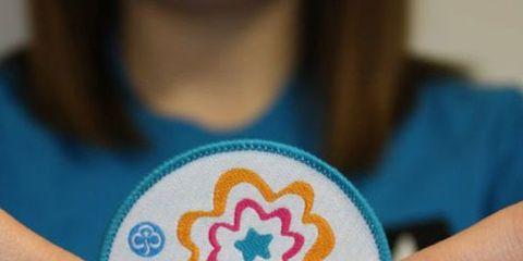 Human, Finger, Nail, Embroidery, Thumb, Needlework, Circle, Creative arts, Craft,