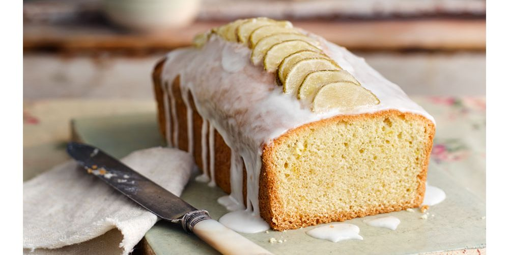 Gin and tonic loaf cake