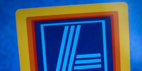 Electric blue, Font, Logo, Rectangle, Signage, Sign, Trademark,
