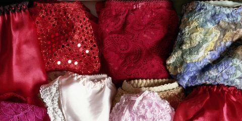 Textile, Purple, Magenta, Pattern, Embellishment, Lace, Satin, Natural material, Costume, Silk,