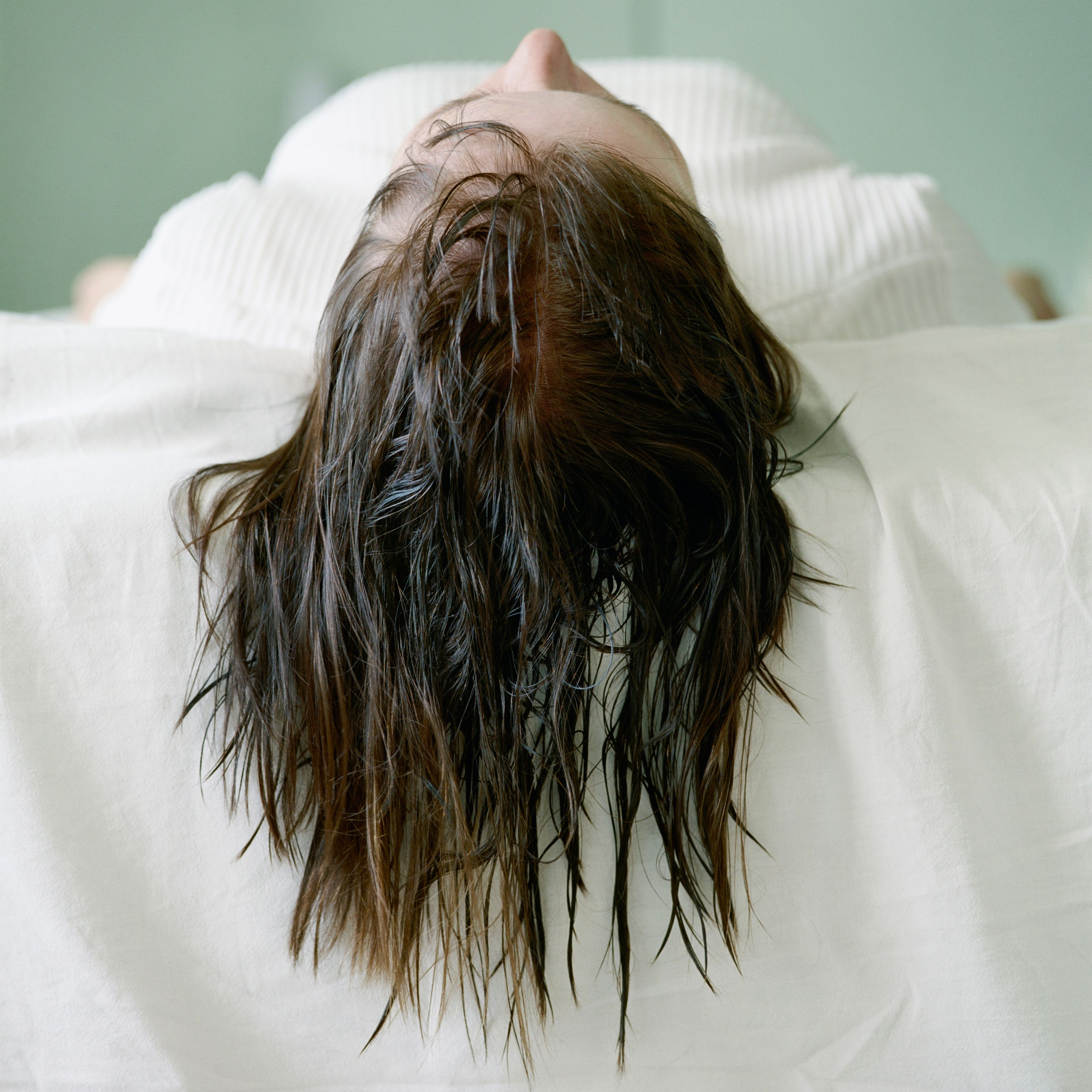 Is it bad to fall asleep with your hair wet