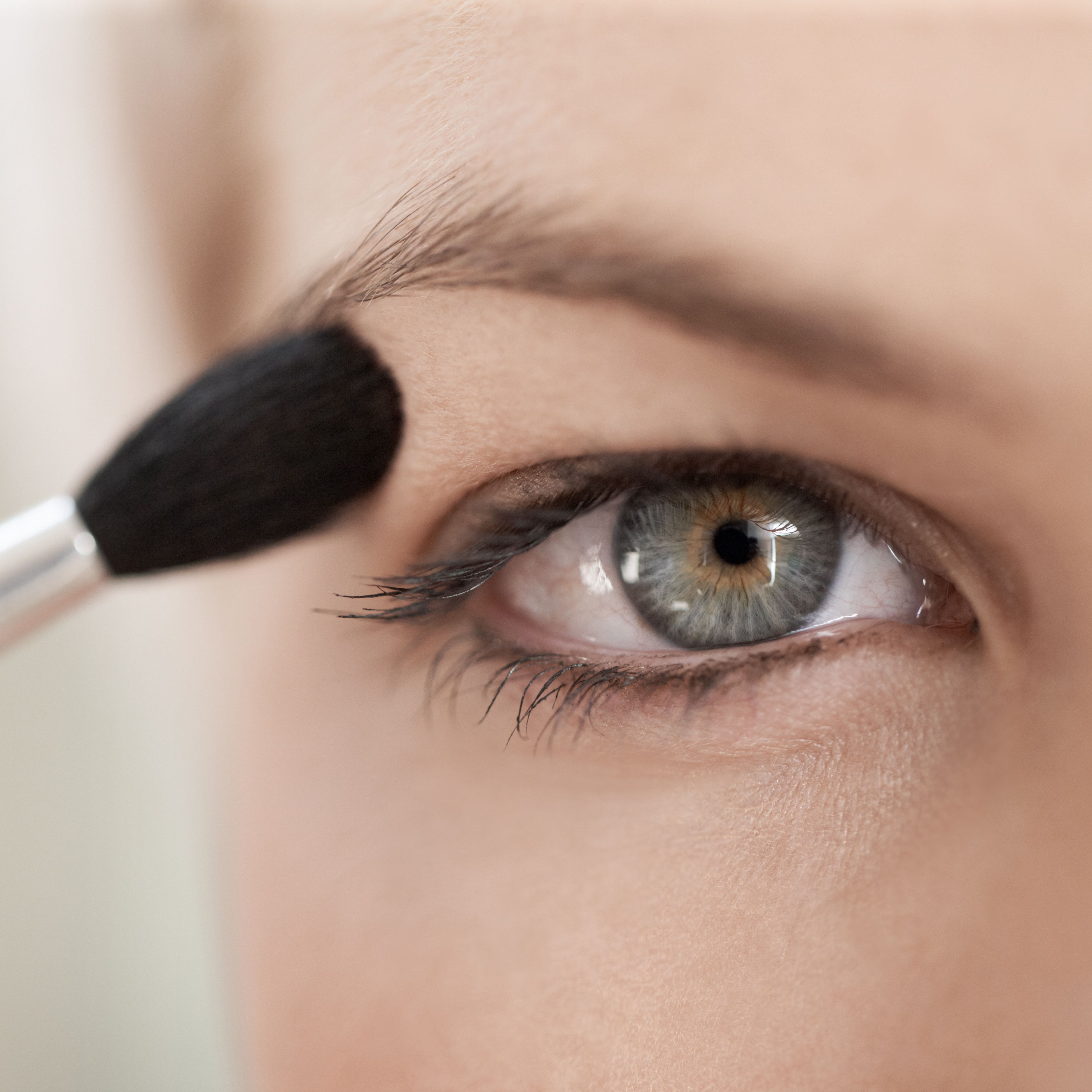 How to apply eye makeup for blue eyes over 50
