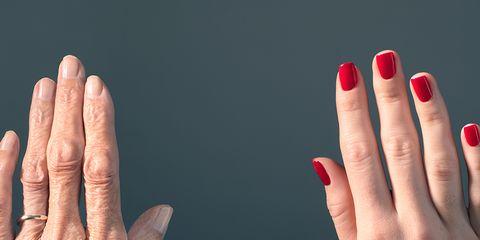 Finger, Skin, Toe, Nail, Nail polish, Wrist, Nail care, Gesture, Thumb, Foot,