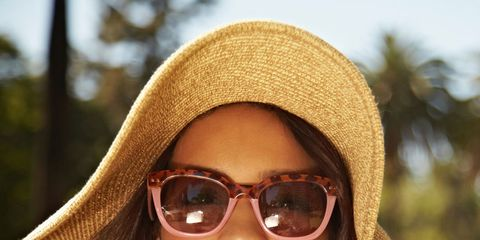 Clothing, Eyewear, Glasses, Nose, Vision care, Lip, Mouth, Sunglasses, Brown, Chin,