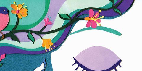 Pink, Petal, Purple, Art, Violet, Magenta, Illustration, Creative arts, Graphics, Drawing,