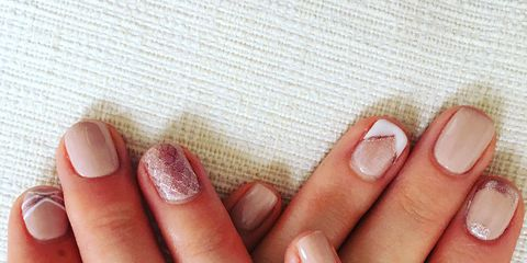 Step By Step Guide Simple Bridal Nail Art