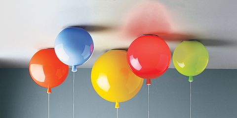 Event, Colorfulness, Balloon, Party supply, Red, Orange, Circle, Coquelicot, Sphere, Decoration,
