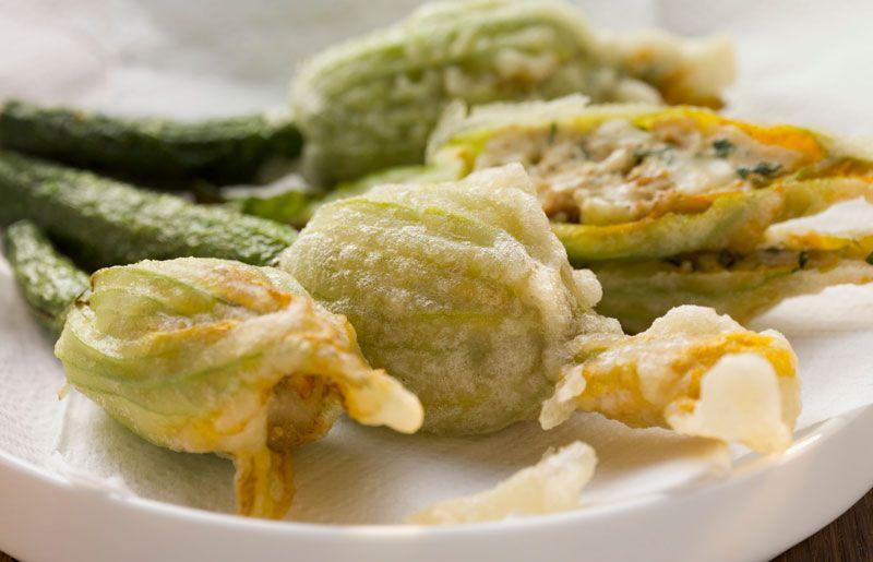 Zucchini flowers recipe jamie oliver