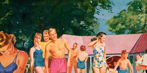 Human, Leg, Fun, Human body, Leisure, Recreation, Swimwear, Summer, People in nature, Barechested,