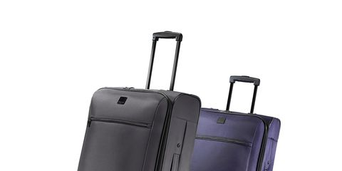 Product, Style, Black, Grey, Baggage, Parallel, Rolling, Metal, Black-and-white, Plastic,
