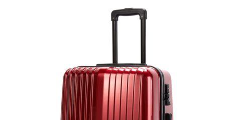 Product, Red, Line, Magenta, Maroon, Plastic, Parallel, Cylinder, Metal, Baggage,