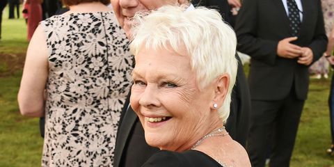 Dame Judi Dench celebrated turning 81 in the coolest way