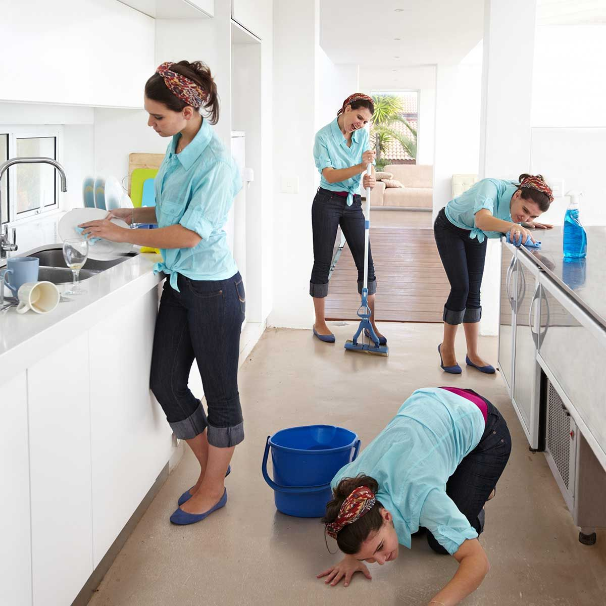 5 ways to cut your weekly cleaning time in half