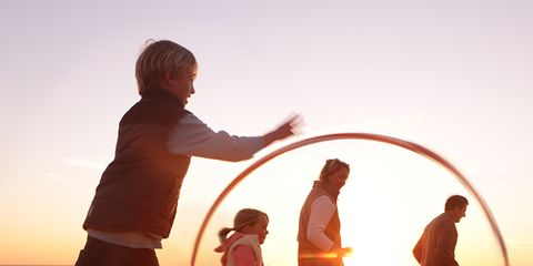 Fun, People on beach, Happy, People in nature, Vacation, Beach, Hula hoop, Sunset, Playing sports, Sand,