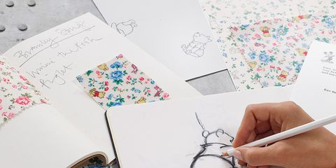 Finger, Nail, Paper product, Stationery, Carmine, Art, Artwork, Line art, Creative arts, Paper,