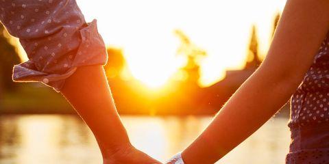 Finger, People on beach, Wrist, People in nature, Summer, Amber, Interaction, Love, Orange, Gesture,