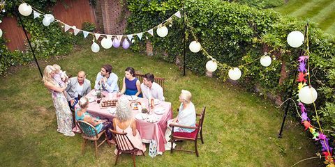 Summer dinner party decorating ideas