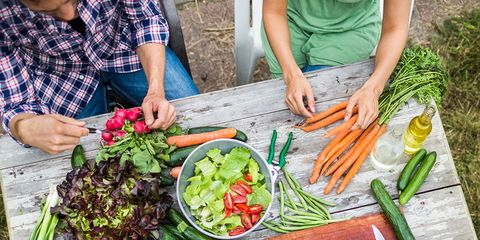 Hand, Community, Vegetable, People in nature, Produce, Local food, Sharing, Food group, Whole food, Leaf vegetable,